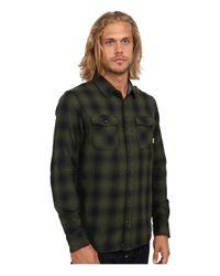 Vans | Green Monterey Woven for Men | Lyst