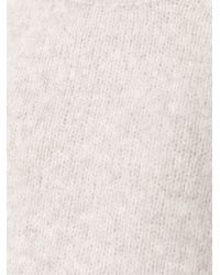 Forte Forte - Natural Crew Neck Sweater - Lyst