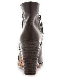 Rag & Bone Noelle Open Toe Booties - Black
