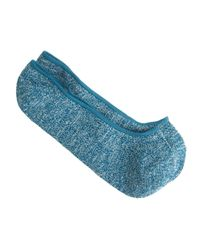 J.Crew - Blue Marled Cotton No-show Socks for Men - Lyst