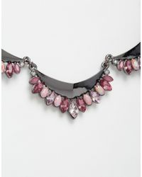 Oasis | Multicolor Ombre Petal Articulated Collar Necklace | Lyst