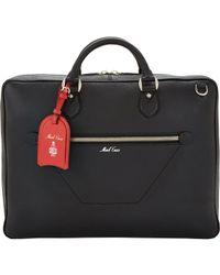 Mark Cross Black Zip Briefcase for men
