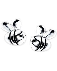 Disney | Metallic Bee Stud Earrings In Sterling Silver | Lyst