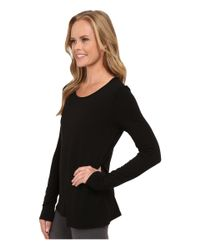 Alo Yoga | Black Kira Long Sleeve Top | Lyst