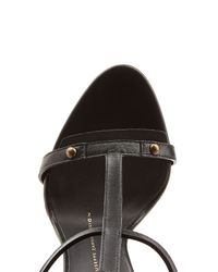 Giuseppe Zanotti - Black Leather Wing Sandals - Lyst