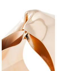 Noritamy | Metallic Large Dented Cuff Bracelet | Lyst