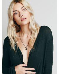 Free People | Metallic Ishi Womens Tahiti Necklace | Lyst