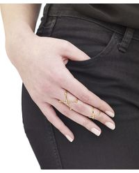 Arme De L'Amour | Metallic Set Of 2 X Rings With Sphere | Lyst