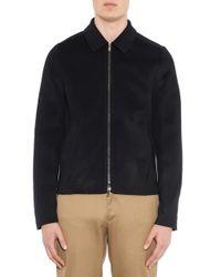 Acne Studios | Blue Shay Wool-Blend Bomber Jacket for Men | Lyst