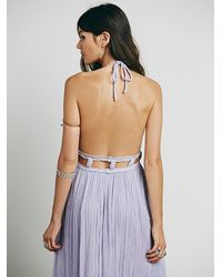 Free People | Gray Jen's Pirate Booty Womens La Cruz Maxi Dress | Lyst