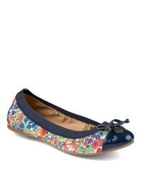 Sperry Top-Sider - Blue Eise Liberty-Print Ballet Flats - Lyst