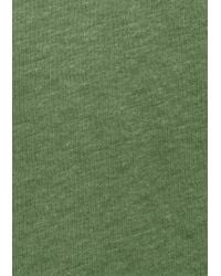 & Other Stories - Green Roll Up Lyocell T-shirt - Lyst
