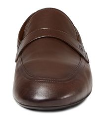 Gucci Brown Unlined Leather Loafer for men