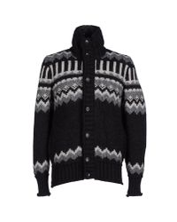 Dolce & Gabbana - Gray Down Jacket for Men - Lyst