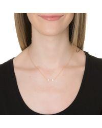Lulu Frost | Metallic Code 14kt Arrow Necklace | Lyst