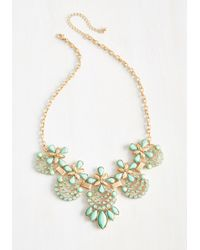 Ana Accessories Inc | Green Hit The Town Stunning Necklace In Mint | Lyst