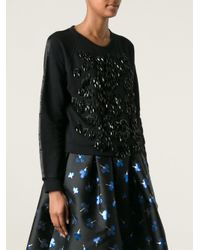 P.A.R.O.S.H. Black 'yuppy' Sweater