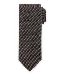 BOSS Gray Woven Tie for men