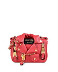 Moschino | Red Shoulder Bag | Lyst