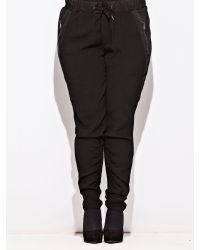 Carmakoma - Black Plus Size Halcon Trouser - Lyst