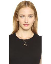 Phyllis + Rosie - Metallic Cecile Necklace - Gold - Lyst