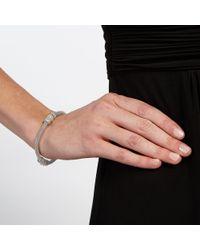 John Lewis Metallic Pave Snake Chain Bracelet
