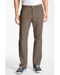 Cutter & Buck | Brown 'pike' Five-pocket Pants for Men | Lyst