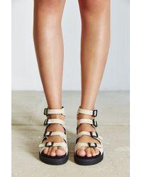 Kelsi Dagger Brooklyn | White Dreamie Gladiator Sandal | Lyst