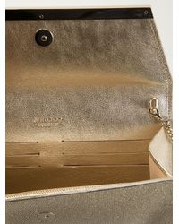 Jimmy Choo Metallic 'margot' Clutch