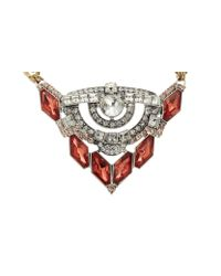 Whistles | Metallic Lulu Frost Statement Necklace | Lyst