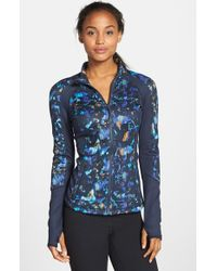 Zella | Blue 'Reverse Warrior' Jacket | Lyst