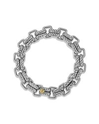 David Yurman - Metallic Empire Double-link Bracelet With Gold for Men - Lyst