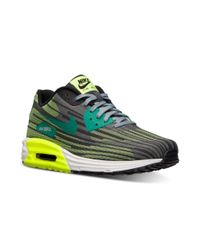 Nike - Green Mens Air Max Lunar90 Jcrd Running Sneakers From Finish Line for Men - Lyst