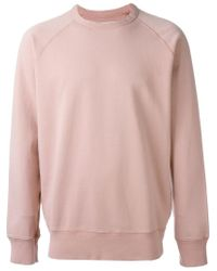 Our Legacy Pink Crew Neck Sweatshirt for men