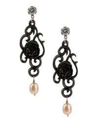 First People First - Black Earrings - Lyst