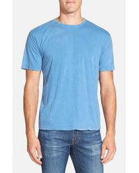 Red Jacket Blue 'Scatter' Burnout T-Shirt for men