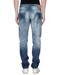 Care Label   Blue Denim Pants for Men   Lyst