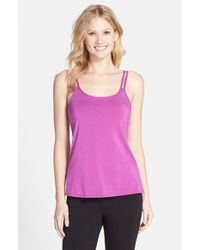 Amoena | Purple Valetta Stretch-Cotton Tank | Lyst