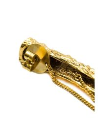 Henson - Metallic Spine Earrings - Lyst