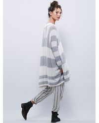 Free People | Gray Womens Lafayette Poncho | Lyst