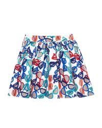 kate spade new york White Toddlers' Coreen Skirt