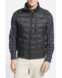 Rainforest - Gray Thermoluxe Quilted Vest for Men - Lyst