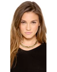 kate spade new york - Metallic Midnight Rendezvous Short Collar Necklace - Lyst