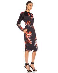 MSGM   Multicolor Midi Dress   Lyst