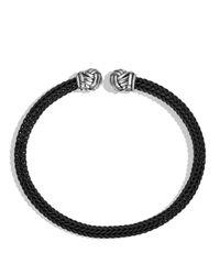 David Yurman | Metallic Maritime Cuff In Black for Men | Lyst