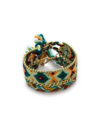 Antik Batik | Brasil Bracelet - Green | Lyst