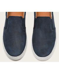 Frye | Blue Norfolk Slip On for Men | Lyst