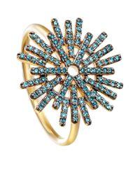 Astley Clarke | Blue Firework Ring | Lyst
