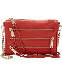 Rebecca Minkoff | Red Love Velvet Cross-Body Bag  | Lyst