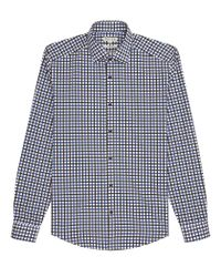 Reiss   Blue Gladiator Contrast Check Shirt for Men   Lyst